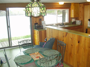 Kitchen and table